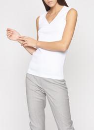 Fabiana Filippi White Cotton Vest