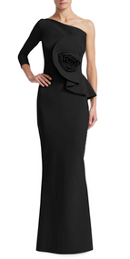 Chiara Boni La Petite Robe Nero Noriko Long Dress