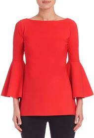 Chiara Boni La Petite Robe Rosso Lacca Natty Top