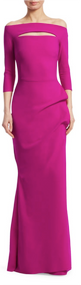 Chiara Boni La Petite Robe Cyclamen Kate Long Dress