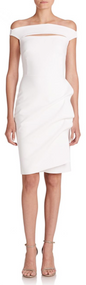 Chiara Boni La Petite Robe Bianco Melania Dress