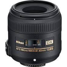 Nikon 40mm f/2.8G AF-S Dx Micro-Nikkor Lens