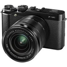 Fujifilm X-M1 Mirrorless Digital Camera 16-50mm Kit w/ 50-230mm Lens
