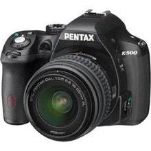 Pentax K-500 Digital SLR Camera with 18-55mm f/3.5-5.6 Lens