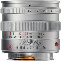 Leica Normal 50mm f/1.4 Summilux M Aspherical Manual Focus Lens