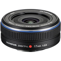 Olympus ED 17mm f2.8 (Black) for All Micro 4/3 Cameras
