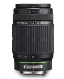 Pentax SMC DA 55-300mm F4-5.8 Ed Telephoto Lens
