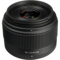 Sigma 19mm f/2.8 EX DN Lens (Black)