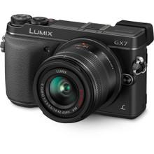 Panasonic Lumix DMC-GX7 Mirrorless Micro Four Thirds Digital Camera with 14-42mm f/3.5-5.6 Lens