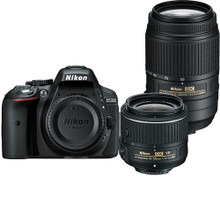 Nikon D5300 DSLR Camera with 18-55mm and 55-300mm Lenses Kit