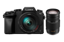 Panasonic Lumix G7 Interchangeable Lens Camera With 14-140mm Lens and Lumix G Vario 100-300mm f/4.0-5.6 OIS Zoom Lens