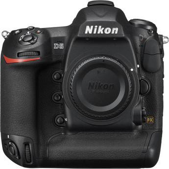 Nikon D5 DSLR Camera (Body Only, Dual CompactFlash)