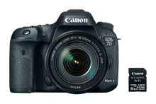 Canon EOS 7D Mark II DSLR Camera with 18-135mm Lens Wi-Fi Adapter Kit