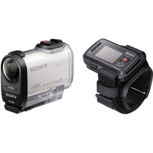 Sony FDR-X1000V 4K Action Cam with Live View Remote Bundle (SONFDRX1000VRW)