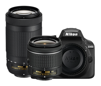 Nikon D3400 Two Lens Kit (NIKD3400KIT), New York to California, Maryland and Connecticut