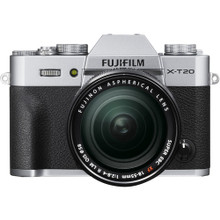 FUJI FILM X-T20 Body with XF18-55mm