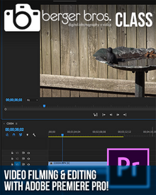 04/15/17 - Video Filming & Editing with Adobe Premiere Pro!