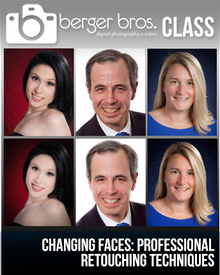 04/25/17 - Changing Faces: Professional Retouching Techniques