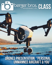 """04/25/17 - Drones: """"Personal Unmanned Aircraft & You"""""""