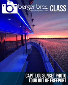 06/19/17 - Capt. Lou Sunset Photo Tour Out of Freeport