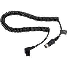 Locking Flash Power Cable for Select Nikon Flash