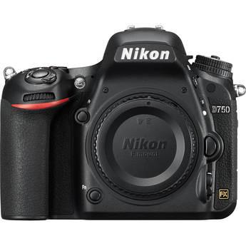 Nikon D750 FX-format Digital SLR Camera (Body), New York, California, Maryland, Connecticut