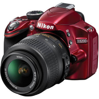 Nikon D3200 Digital SLR Camera w/ AF-S DX NIKKOR VR 18-55mm Lens, New York, California, Maryland, Connecticut
