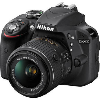 Nikon D3300 DSLR Camera with 18-55mm Lens, New York, California, Maryland, Connecticut