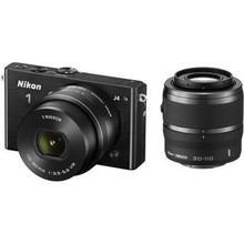 Nikon 1 J4 Mirrorless Digital Camera with 10-30mm and 30-110mm Lenses