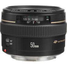 Canon 50mm f/1.4 EF USM Lens
