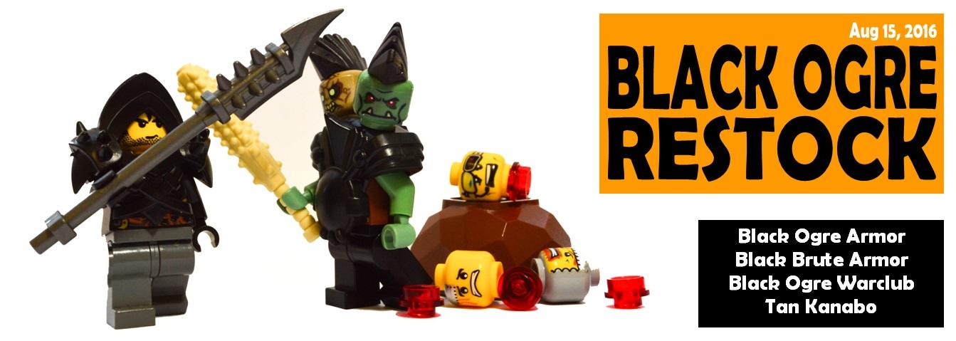 Custom LEGO® Minifigure Ogre Armor