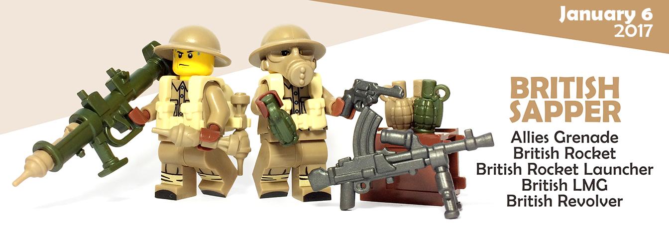 Custom Lego Guns - British