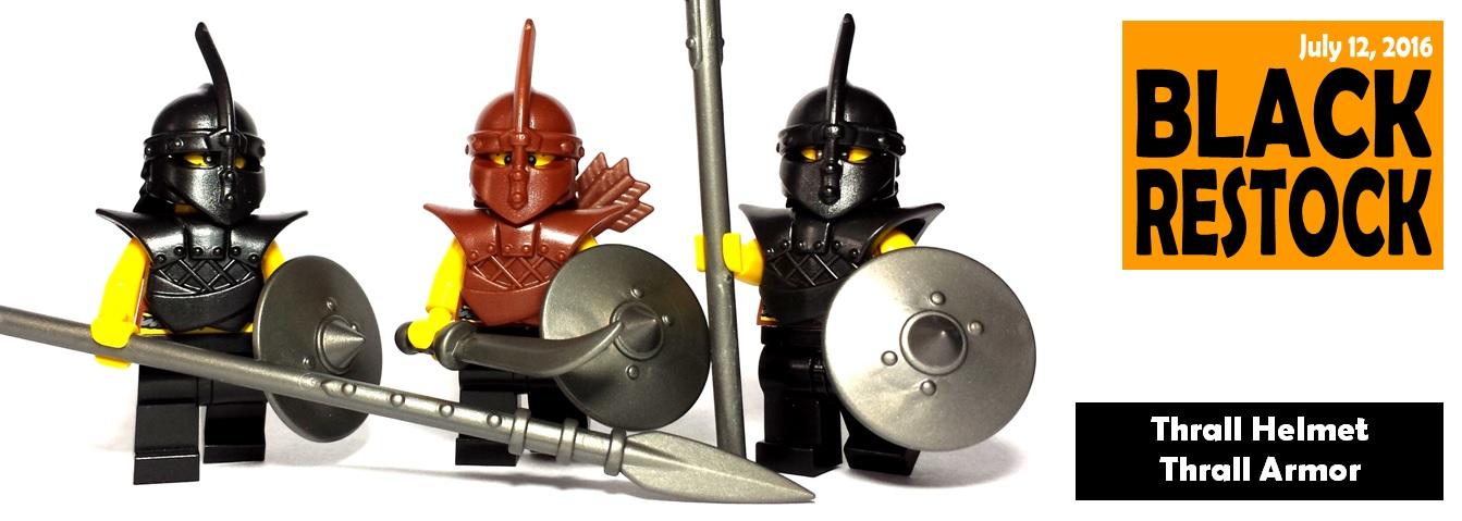 Custom LEGO® Minifigure Thrall Armor