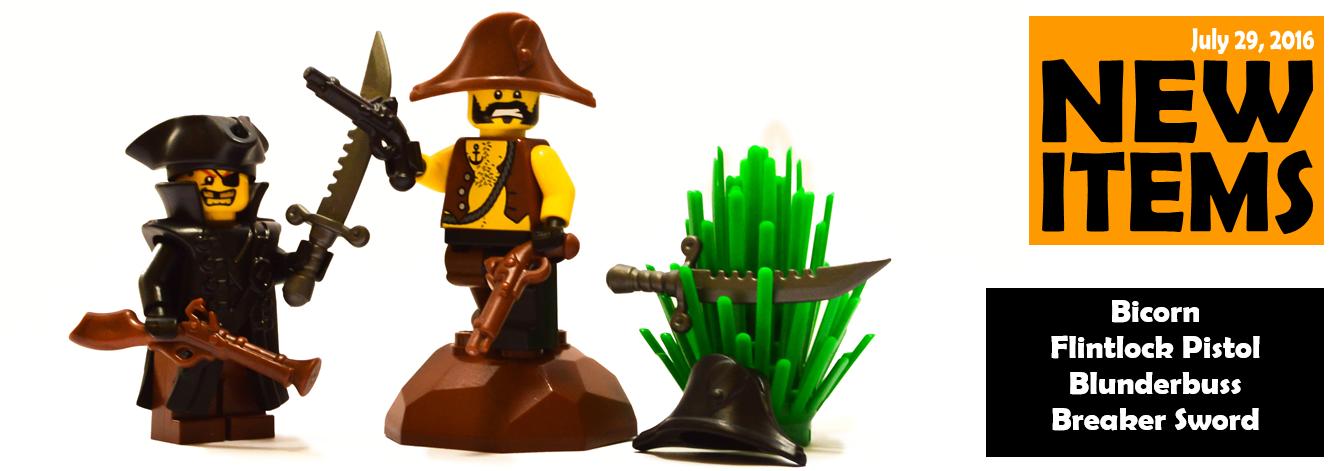 Custom LEGO® Minifigure Pirates