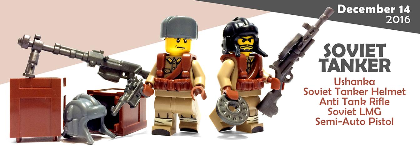 Custom Lego Guns - Soviet