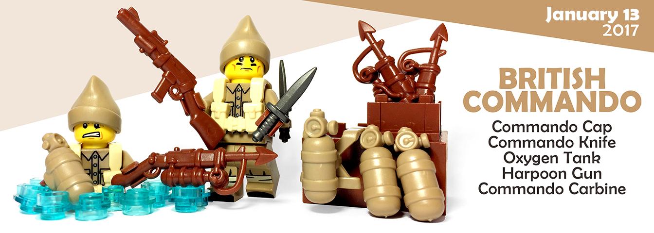 Custom Lego Guns - British Commando