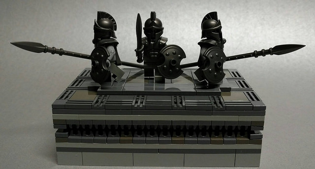 LEGO MOC of the Week - Achilles Victory at Troy by AC Pin