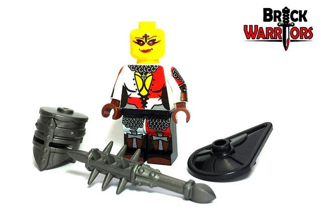 Custom LEGO Helmet Spotlight - Crusader Helm