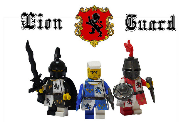 Custom LEGO Minifigure of the Week - Lion Guard by Moqi Woqi