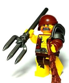 Retiarius Custom Lego Weapons