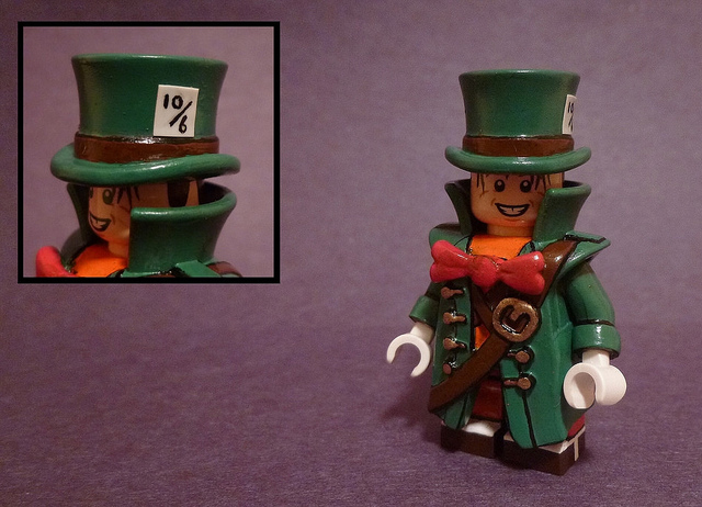 Custom LEGO Minifigure of the Week - Mad Hatter by TheMooseFigs