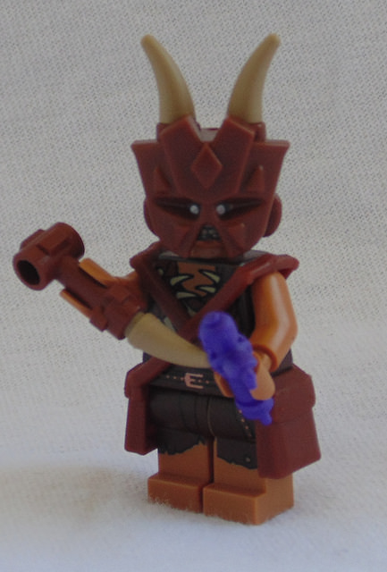 Custom LEGO Minifigure of the Week - Voodoom by Mark Luinmor