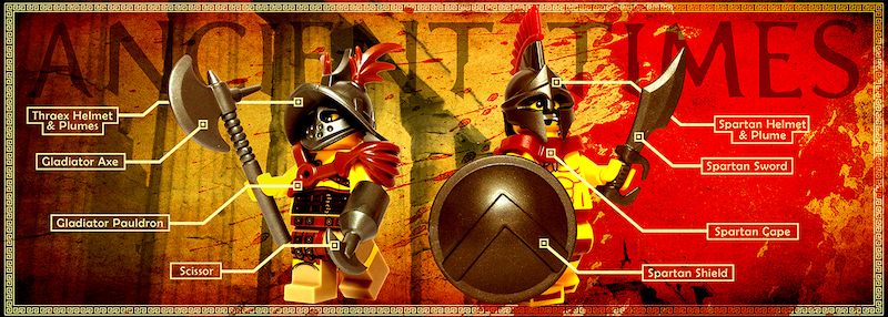 Ancient Custom Lego Weapons