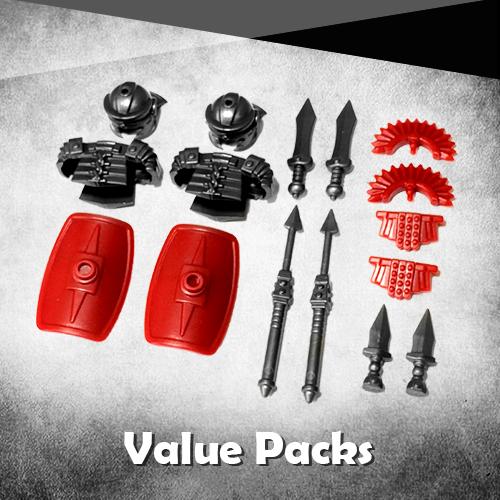 Custom Lego Weapons Packs