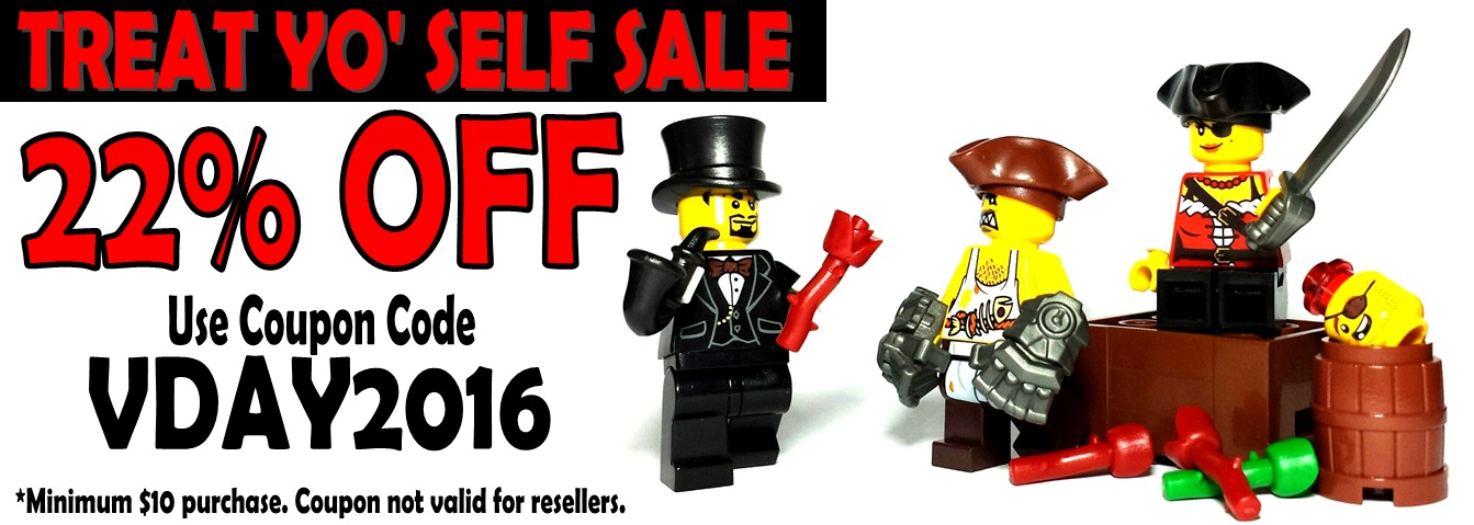 lego valentine's day treat yo' self sale