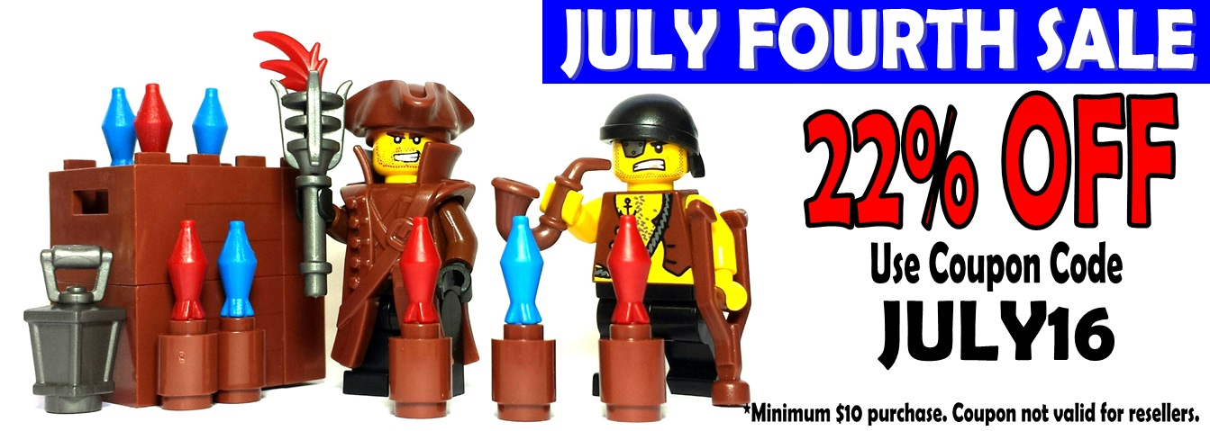 Get 22% Off During Our Lego 4th of July Weekend Sale!