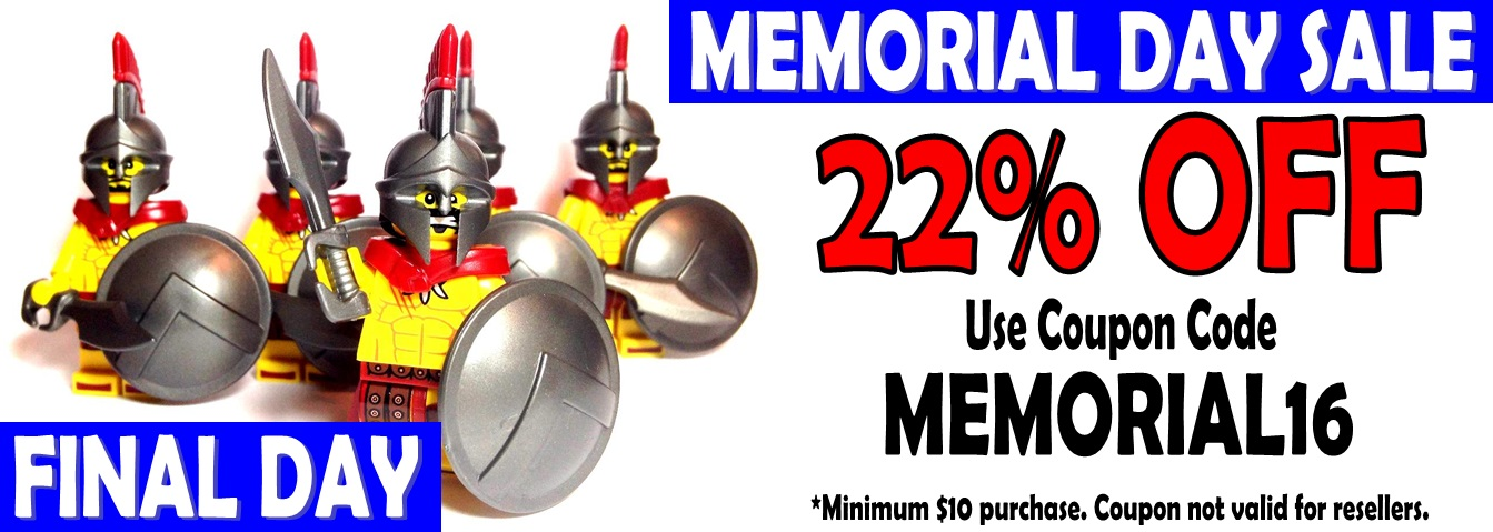 Final Day to Get 22% Off During Our Memorial Day Sale!