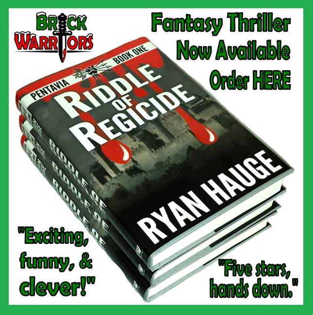 new thriller - riddle of regicide - by ryan hauge