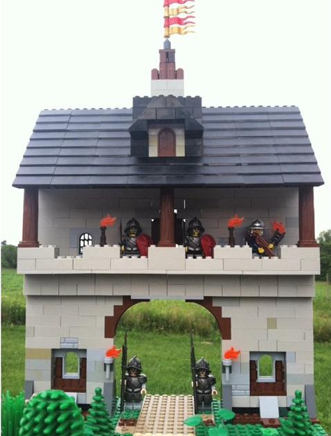 Castle by @brickknightbob