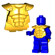 Minifigure Armor - Muscled Cuirass